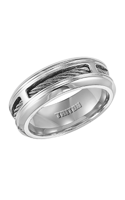 Triton Stainless Steel Wedding Band 11-2145S-G