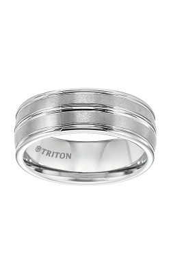 Triton Tungsten Air Wedding Band 11-2890HC-G