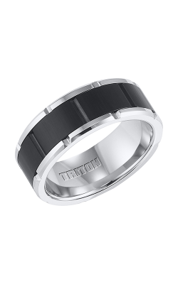Triton Tungsten Air Wedding Band 11-4334MC-G