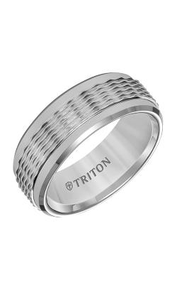 Triton Tungsten Air Wedding Band 11-5938C8-G product image