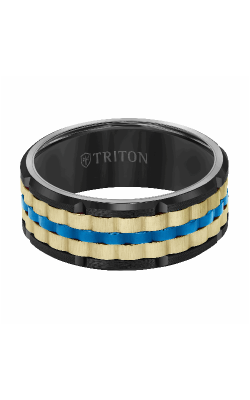 Triton Rogue Wedding Band 11-6016BCYBU-G