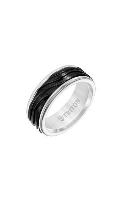 Triton Carved Wedding Band 11-6063WCBT8-G