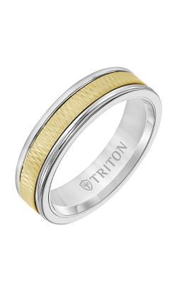 Triton Custom Wedding Band 11-2415WCY6-G