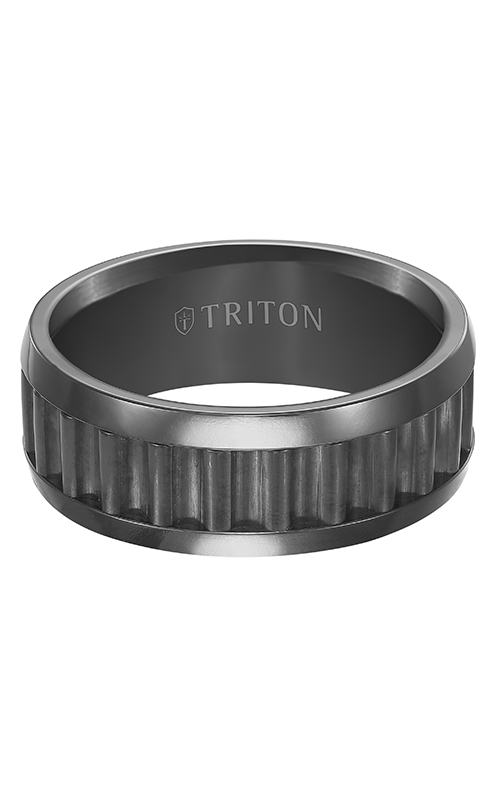 Triton Tungsten Carbide Wedding Band 11-4652BC product image