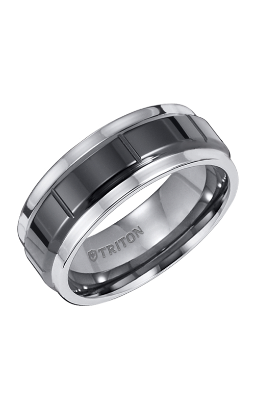 Triton Tungsten Carbide Wedding Band 11-2231CE product image