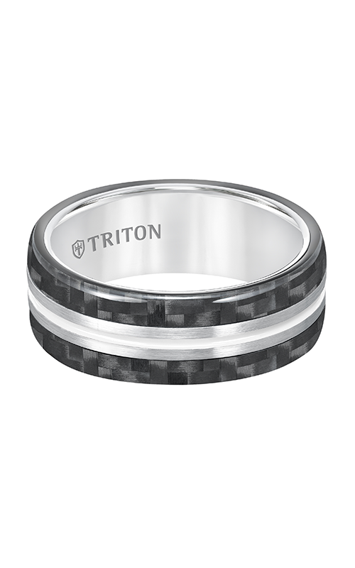 Triton Tungsten Air Wedding Band 11-5809THH-G product image