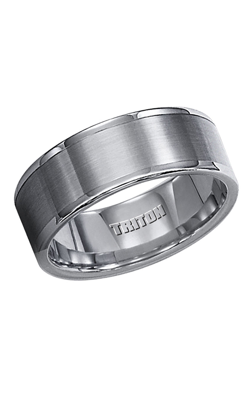 Triton  Tungsten Carbide Wedding Band 11-2118C-G product image