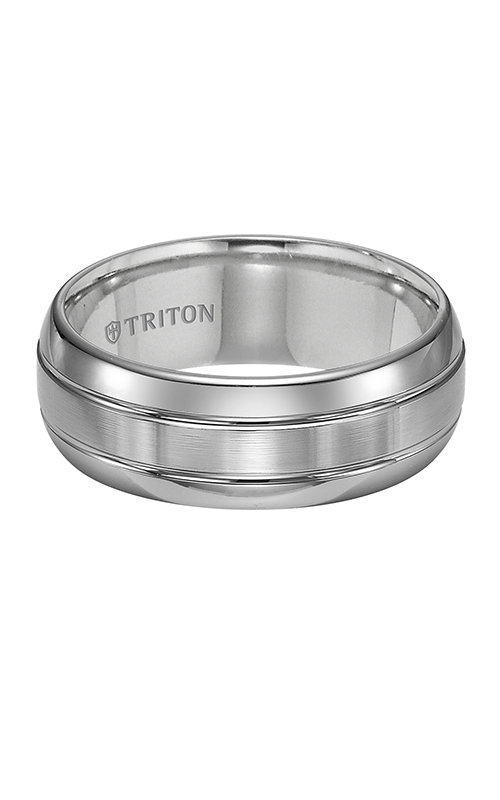 Triton  8mm Tungs/Brushed Band  Wedding Band  11-2926C-G product image