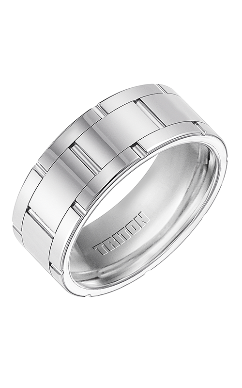 Triton  9mm Comfort Fit WTCN/V.Cut Band  Wedding Band  11-3294HC-G product image