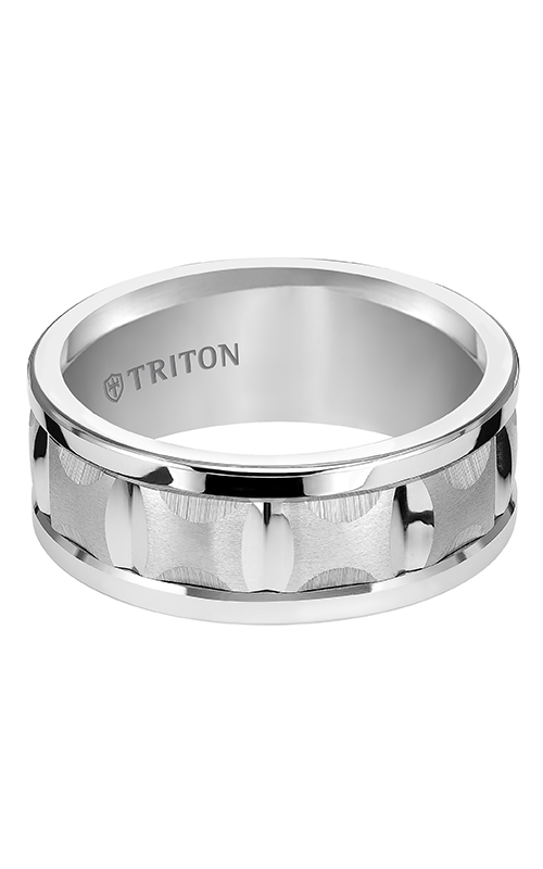 Triton  9mm Comfort Fit WTC RIM Band - A  Wedding Band  11-4813HC-G product image