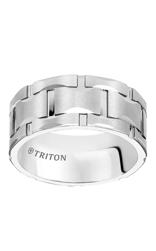 Triton  10mm Comfort Fit WTC Bright Cut Band - A  Wedding Band  11-4816HC-G product image