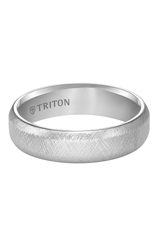 Triton  6mm Comfort Fit WTC Florentine Band - A  Wedding Band  11-4824HC-G product image