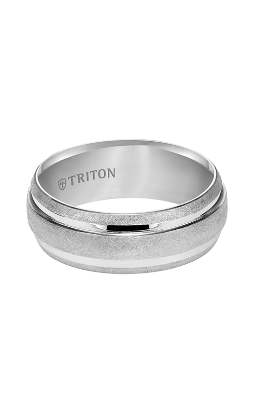 Triton  9mm Comfort Fit WTC Crystalline Band - A  Wedding Band  11-4829HC-G product image