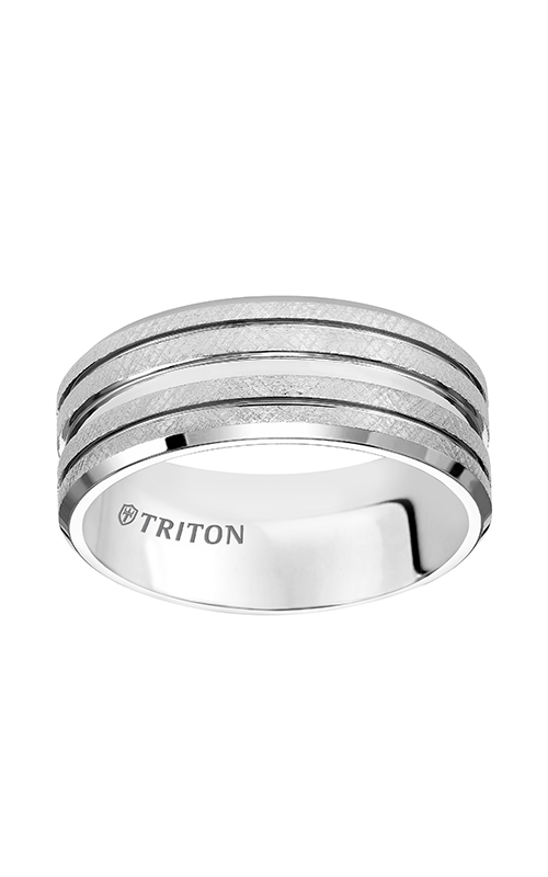 Triton  9mm Comfort Fit WTC Florentine Band - A  Wedding Band  11-4830HC-G product image