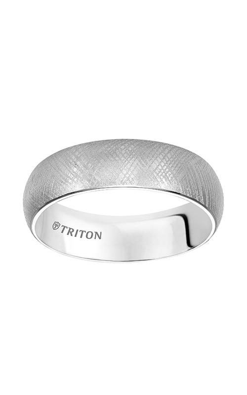 Triton Tungsten Carbide Wedding Band 11-4831HC-G product image