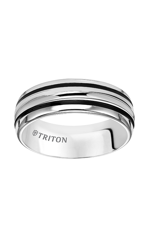 Triton Tungsten Carbide Wedding Band  11-4834HC-G product image