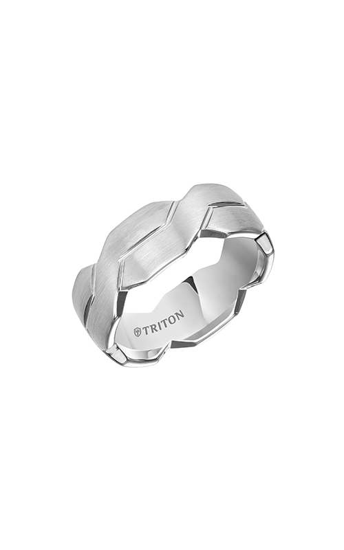 Triton  8mm Comfort Fit WTC Woven Band - A  Wedding Band  11-4835HC-G product image