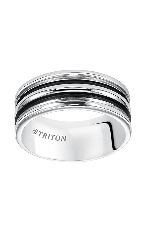 Triton Tungsten Carbide Wedding Band 11-5239HC-G product image