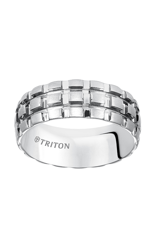 Triton  8mm Comfort Fit WTC BRT.Cut Band - A  Wedding Band  11-5240HC-G product image
