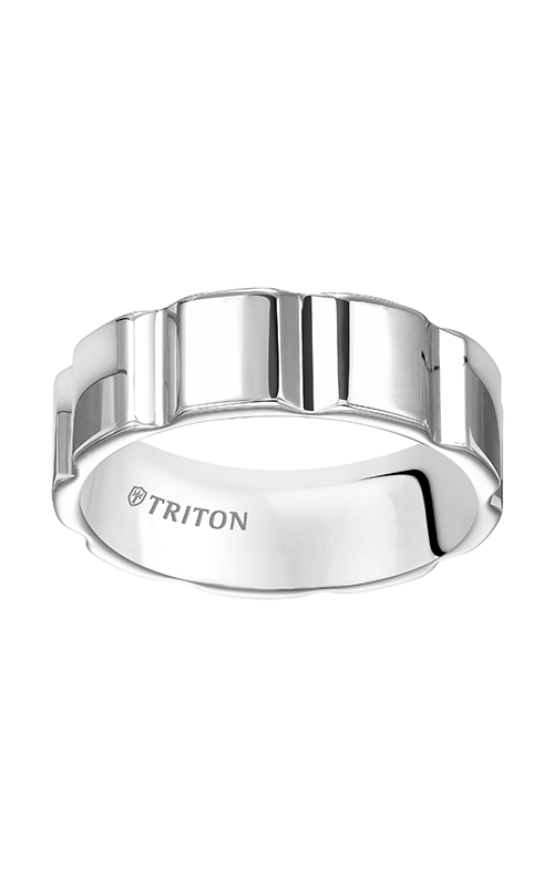 Triton  7mm Comfort Fit WTC Vert.Cut Band - A  Wedding Band  11-5241HC-G product image