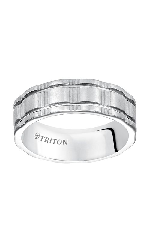 Triton  7mm Comfort Fit WTC Vert.Tex Band - A  Wedding Band  11-5243HC-G product image