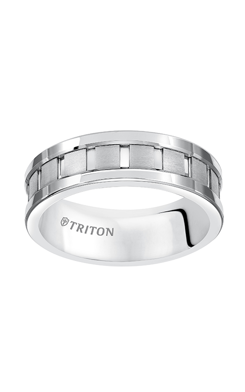 Triton  7mm Comfort Fit WTC Vert Cut Band - A  Wedding Band  11-5245HC-G product image