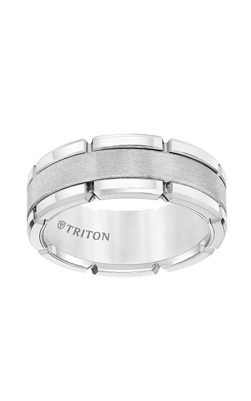 Triton Tungsten Carbide Wedding Band 11-5252HC-G product image