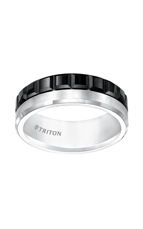 Triton Tungsten Carbide Wedding Band 11-5413MC-G product image