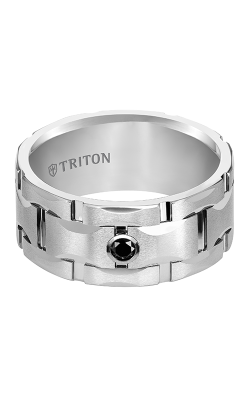 Triton Tungsten Carbide Wedding Band 22-4822HC-G product image