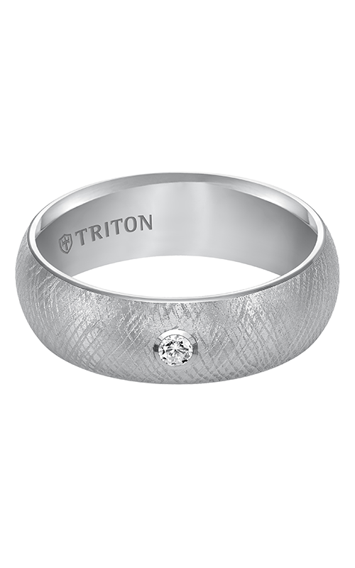 Triton  7mm Comfort Fit WTC Florentine Band - A  Wedding Band  22-4838HC-G product image