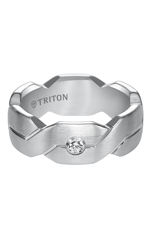 Triton  8mm Comfort Fit WTC Woven Band - A  Wedding Band  22-4839HC-G product image