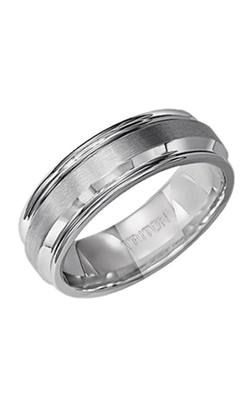 Triton Engraved Wedding Band 11-2054S-G product image