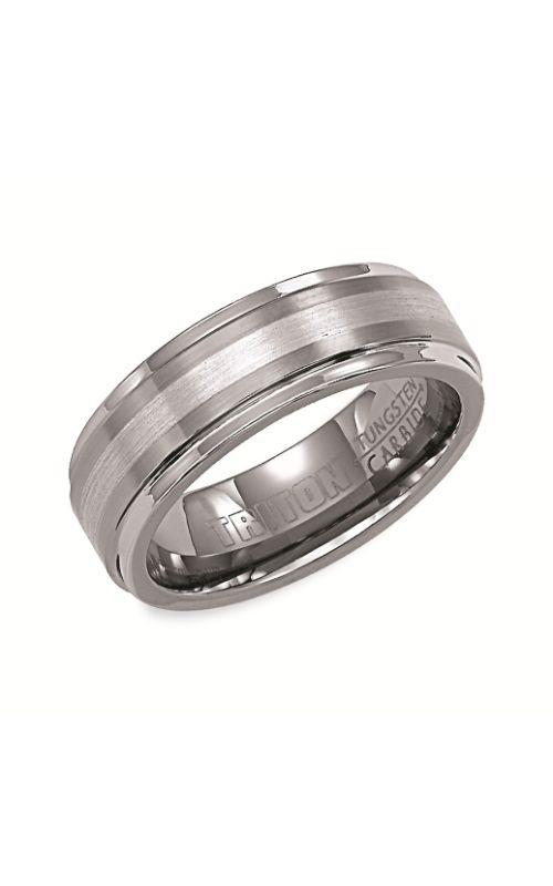 Triton Engraved Wedding Band 11-2098P7C-G product image