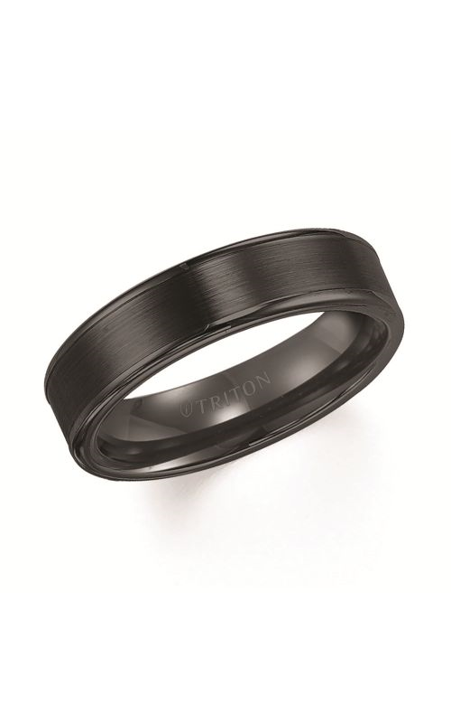 Triton Engraved Wedding Band 11-2117BC-G product image