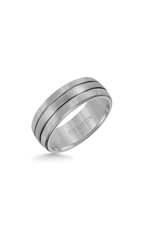 Triton Engraved Wedding Band 11-2926C-G product image