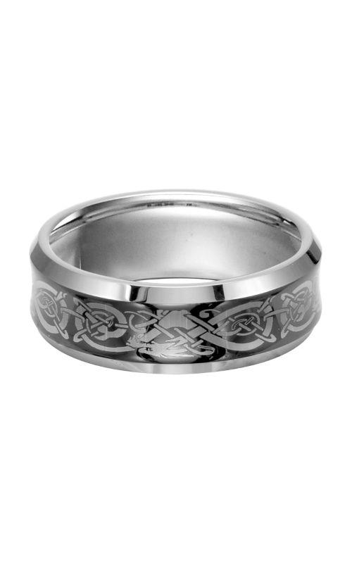 Triton Engraved Wedding Band 11-2928C-G product image