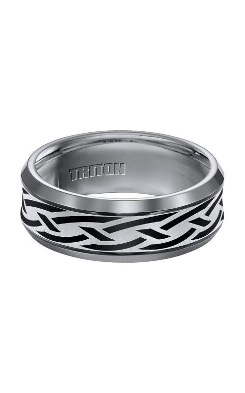 Triton Engraved Wedding Band 11-3049C-G product image
