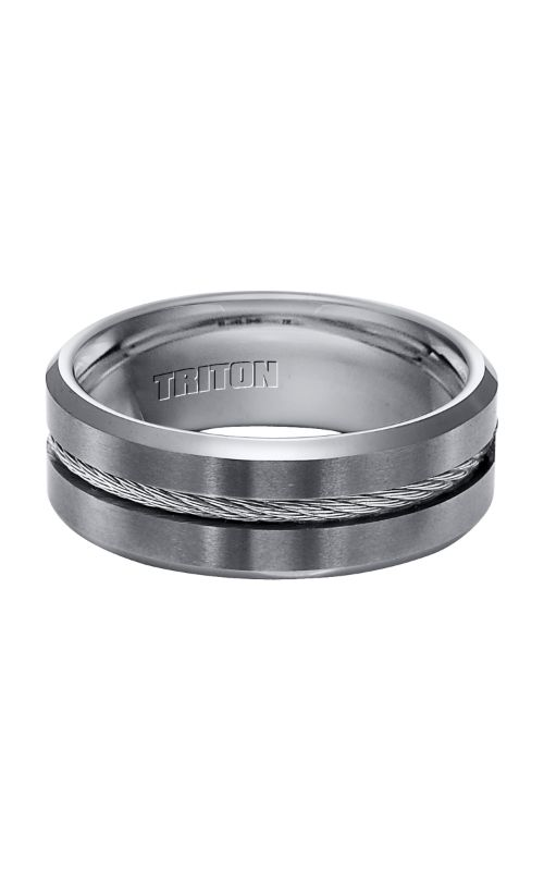 Triton Engraved Wedding Band 11-3289C-G product image