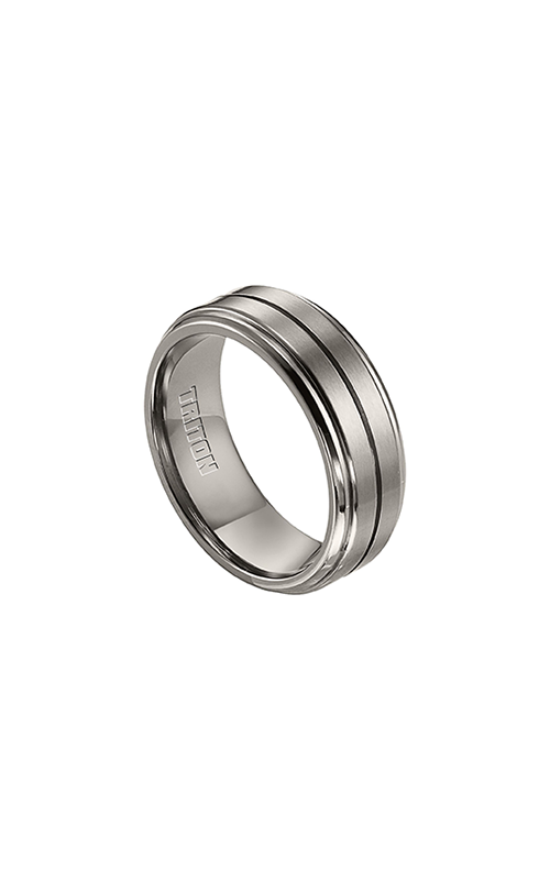 Triton Tungsten Carbide Wedding Band 11-3295T-G product image