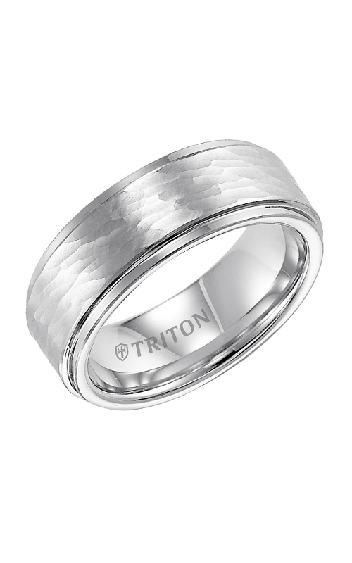 Triton Engraved Wedding Band 11-3348Q-G product image