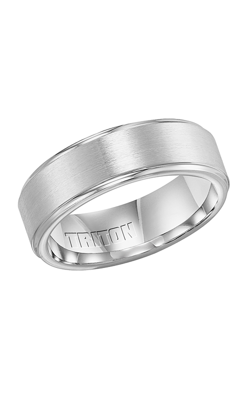 Triton Engraved Wedding Band 11-3354Q-G product image