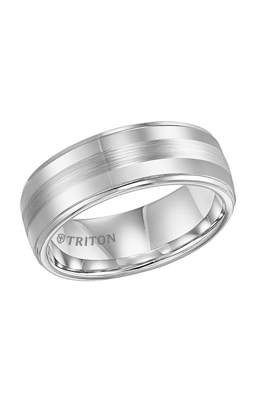 Triton Engraved Wedding Band 11-3356Q-G product image
