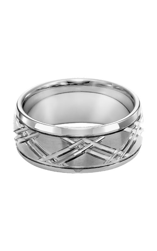 Triton Tungsten Carbide Wedding Band 11-4125HC-G product image