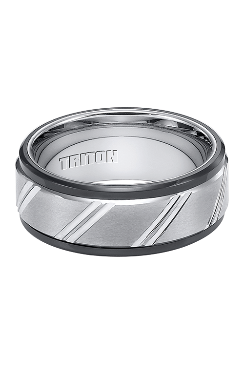 Triton Engraved Wedding Band 11-4146MC-G product image