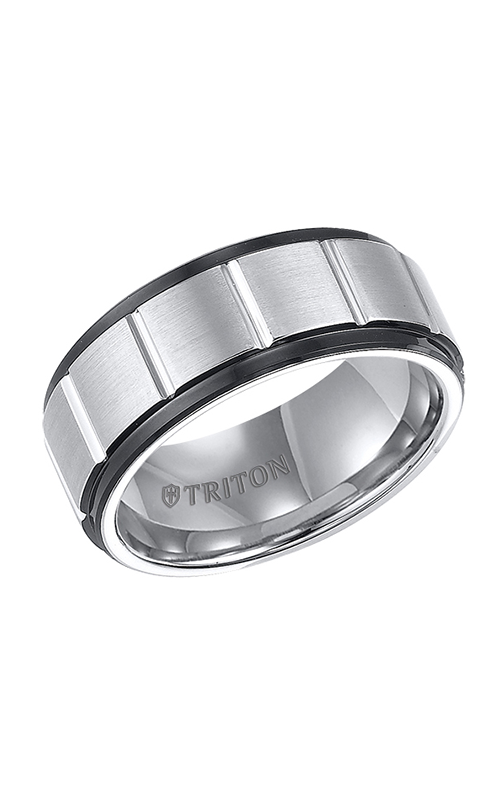 Triton Tungsten Carbide Wedding Band 11-4149MC-G product image