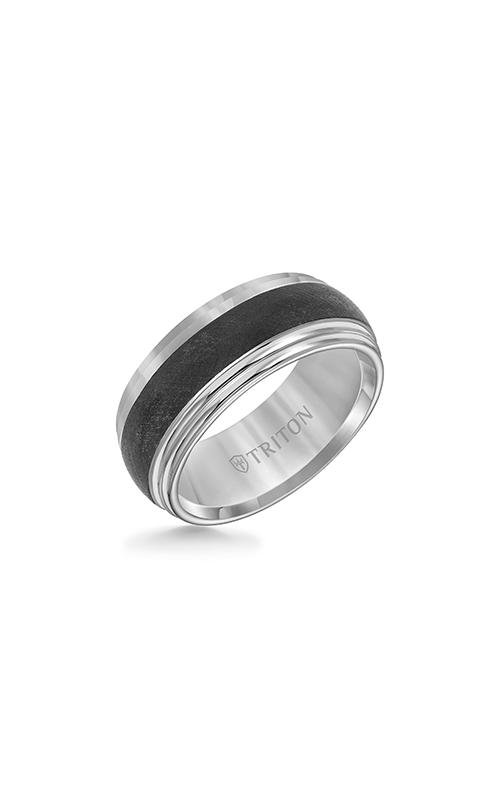 Triton Tungsten Carbide Wedding Band 11-4153MC-G product image