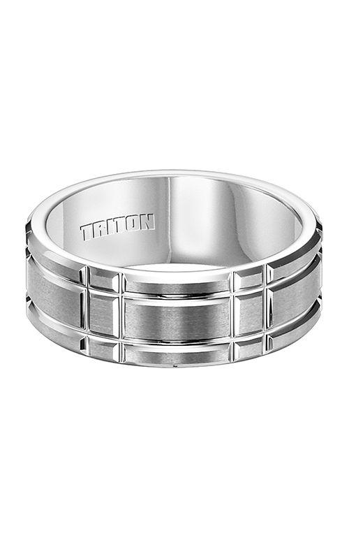 Triton Engraved Wedding Band 11-4424HC-G product image