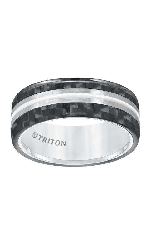 Triton Engraved Wedding Band 11-5809THH-G product image