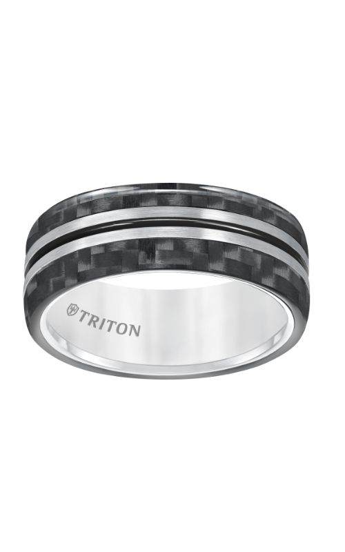 Triton Tungsten Carbide Wedding Band 11-5809THK-G product image