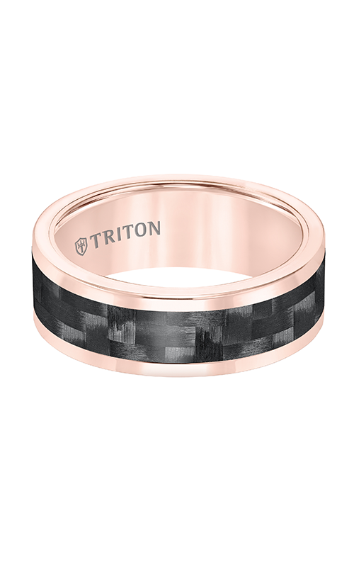 Triton Engraved Wedding Band 11-5810RC-G product image